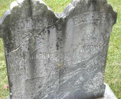 WARNOCK, W H - Saline County, Arkansas   W H WARNOCK - Arkansas Gravestone Photos