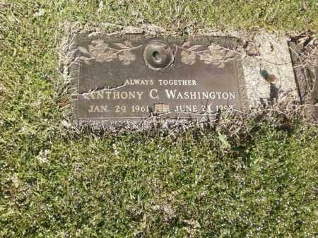 WASHINGTON, ANTHONY C. - Saline County, Arkansas | ANTHONY C. WASHINGTON - Arkansas Gravestone Photos