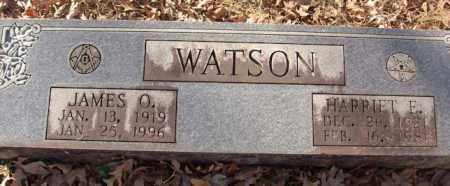 WATSON, HARRIET E. - Saline County, Arkansas | HARRIET E. WATSON - Arkansas Gravestone Photos