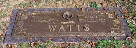 WATTS, CARL T. - Saline County, Arkansas | CARL T. WATTS - Arkansas Gravestone Photos