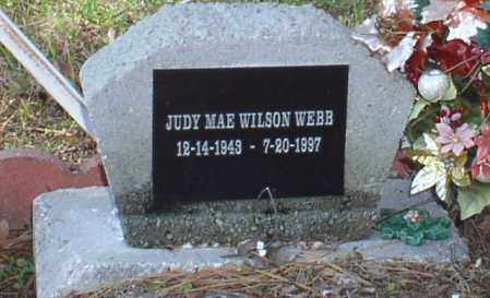 WILSON WEBB, JUDY MAE - Saline County, Arkansas | JUDY MAE WILSON WEBB - Arkansas Gravestone Photos