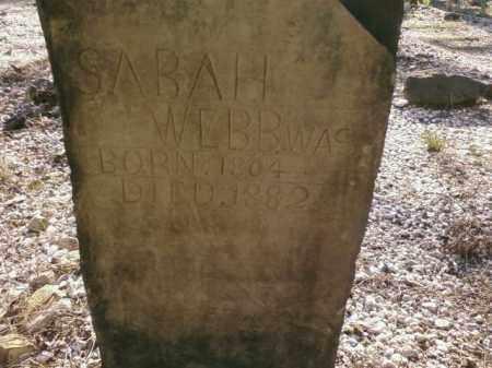 WEBB, SARAH - Saline County, Arkansas   SARAH WEBB - Arkansas Gravestone Photos