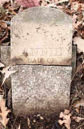 WELCH, ANNIE - Saline County, Arkansas   ANNIE WELCH - Arkansas Gravestone Photos