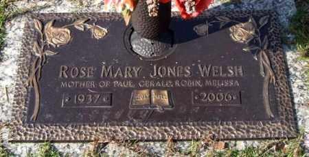 WELSH, ROSE MARY - Saline County, Arkansas | ROSE MARY WELSH - Arkansas Gravestone Photos