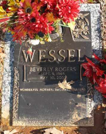 ROGERS WESSEL, BEVERLY - Saline County, Arkansas | BEVERLY ROGERS WESSEL - Arkansas Gravestone Photos