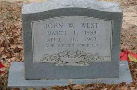 WEST, JOHN W. - Saline County, Arkansas | JOHN W. WEST - Arkansas Gravestone Photos