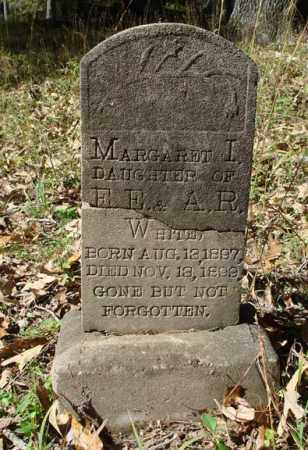 WHITE, MARGARET I. - Saline County, Arkansas | MARGARET I. WHITE - Arkansas Gravestone Photos