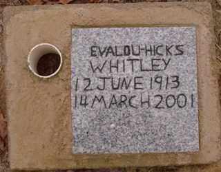 WHITLEY, EVALOU - Saline County, Arkansas   EVALOU WHITLEY - Arkansas Gravestone Photos