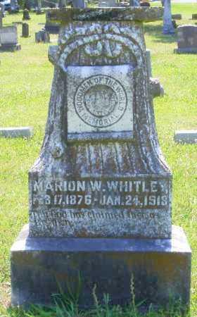 WHITLEY, MARION W. - Saline County, Arkansas | MARION W. WHITLEY - Arkansas Gravestone Photos