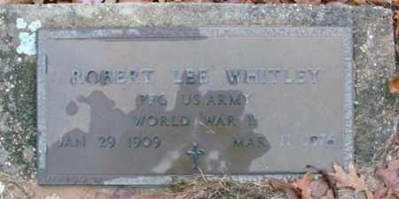 WHITLEY (VETERAN WWII), ROBERT LEE - Saline County, Arkansas | ROBERT LEE WHITLEY (VETERAN WWII) - Arkansas Gravestone Photos