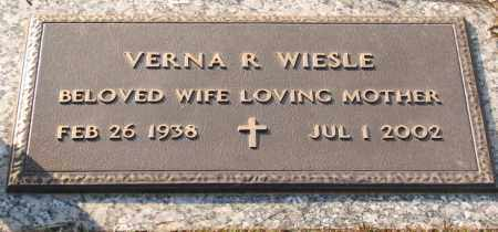 WIESLE, VERNA R. - Saline County, Arkansas | VERNA R. WIESLE - Arkansas Gravestone Photos