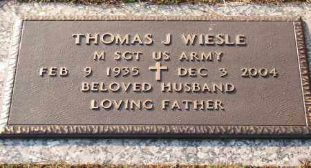WIESLE (VETERAN), THOMAS J - Saline County, Arkansas | THOMAS J WIESLE (VETERAN) - Arkansas Gravestone Photos