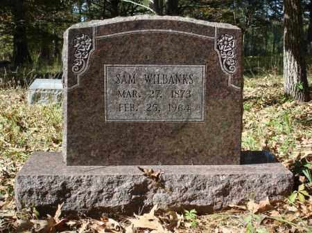 WILBANKS, SAM - Saline County, Arkansas | SAM WILBANKS - Arkansas Gravestone Photos