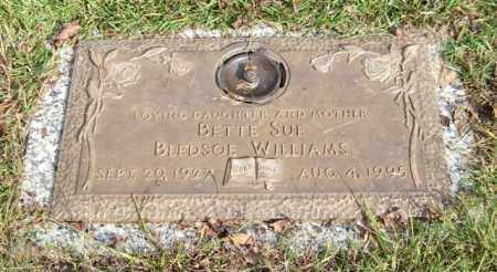 BLEDSOE WILLIAMS, BETTE SUE - Saline County, Arkansas   BETTE SUE BLEDSOE WILLIAMS - Arkansas Gravestone Photos