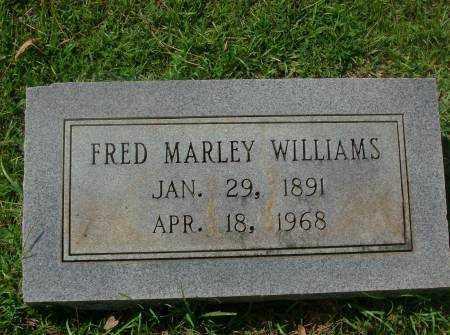 WILLIAMS, FRED MARLEY - Saline County, Arkansas   FRED MARLEY WILLIAMS - Arkansas Gravestone Photos