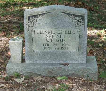 SHELNUT WILLIAMS, GLENNIE ESTELLE - Saline County, Arkansas   GLENNIE ESTELLE SHELNUT WILLIAMS - Arkansas Gravestone Photos