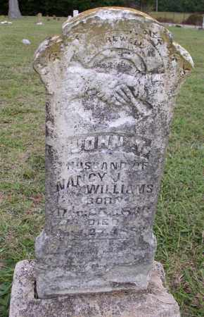 WILLIAMS (VETERAN CSA), JOHN Y - Saline County, Arkansas | JOHN Y WILLIAMS (VETERAN CSA) - Arkansas Gravestone Photos