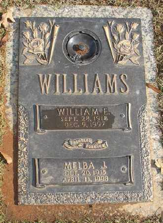 WILLIAMS, MELBA J. - Saline County, Arkansas | MELBA J. WILLIAMS - Arkansas Gravestone Photos