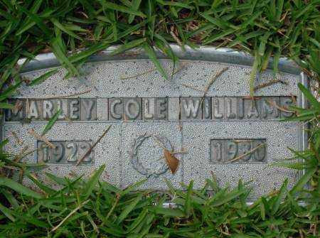 WILLIAMS, MARLEY - Saline County, Arkansas | MARLEY WILLIAMS - Arkansas Gravestone Photos