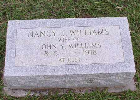 DICKSON WILLIAMS, NANCY JANE - Saline County, Arkansas | NANCY JANE DICKSON WILLIAMS - Arkansas Gravestone Photos