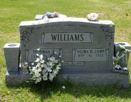 CAMP WILLIAMS, VELMA D. - Saline County, Arkansas | VELMA D. CAMP WILLIAMS - Arkansas Gravestone Photos