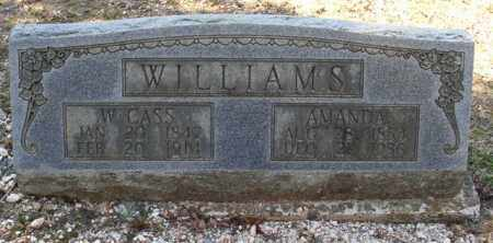 WILLIAMS, AMANDA - Saline County, Arkansas | AMANDA WILLIAMS - Arkansas Gravestone Photos