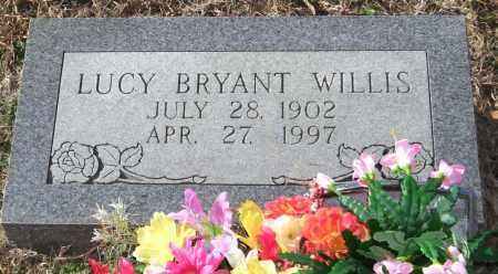 BRYANT WILLIS, LUCY - Saline County, Arkansas | LUCY BRYANT WILLIS - Arkansas Gravestone Photos
