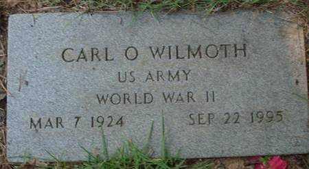 WILMOTH (VETERAN WWII), CARL O - Saline County, Arkansas | CARL O WILMOTH (VETERAN WWII) - Arkansas Gravestone Photos