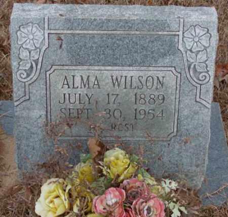 WILSON, ALMA - Saline County, Arkansas | ALMA WILSON - Arkansas Gravestone Photos