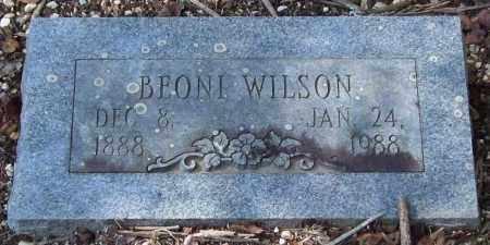 "WILSON, BEONIA MARION ""BEONI"" - Saline County, Arkansas   BEONIA MARION ""BEONI"" WILSON - Arkansas Gravestone Photos"