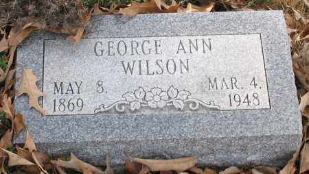 WILLIS WILSON, GEORGE ANN - Saline County, Arkansas | GEORGE ANN WILLIS WILSON - Arkansas Gravestone Photos