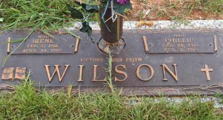 WILSON, IRENE A - Saline County, Arkansas | IRENE A WILSON - Arkansas Gravestone Photos