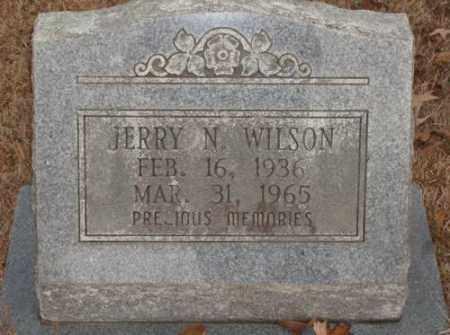 WILSON, JERRY N. - Saline County, Arkansas | JERRY N. WILSON - Arkansas Gravestone Photos