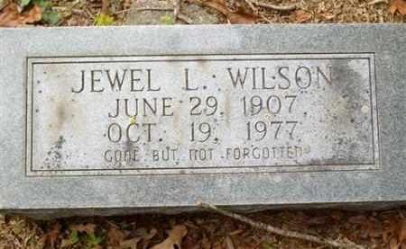 WILSON, JEWEL L - Saline County, Arkansas   JEWEL L WILSON - Arkansas Gravestone Photos