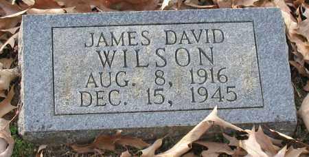 WILSON, JAMES DAVID - Saline County, Arkansas   JAMES DAVID WILSON - Arkansas Gravestone Photos