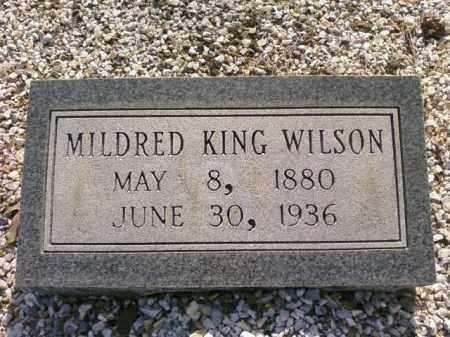 WILSON, MILDRED - Saline County, Arkansas | MILDRED WILSON - Arkansas Gravestone Photos