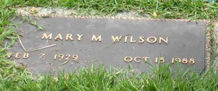 WILSON, MARY MELBA (CLOSEUP) - Saline County, Arkansas | MARY MELBA (CLOSEUP) WILSON - Arkansas Gravestone Photos