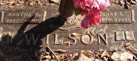 WILSON, MARTHA A. - Saline County, Arkansas | MARTHA A. WILSON - Arkansas Gravestone Photos