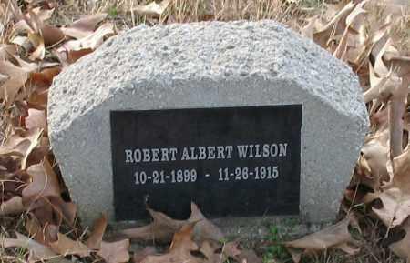 WILSON, ROBERT ALBERT - Saline County, Arkansas   ROBERT ALBERT WILSON - Arkansas Gravestone Photos