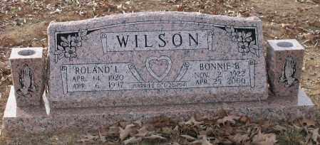 WILSON, ROLAND LEE - Saline County, Arkansas | ROLAND LEE WILSON - Arkansas Gravestone Photos