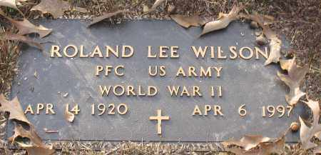 WILSON (VETERAN WWII), ROLAND LEE - Saline County, Arkansas   ROLAND LEE WILSON (VETERAN WWII) - Arkansas Gravestone Photos