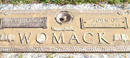WOMACK, ARDELIA P. - Saline County, Arkansas | ARDELIA P. WOMACK - Arkansas Gravestone Photos