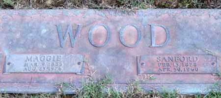 WOOD, SANFORD - Saline County, Arkansas | SANFORD WOOD - Arkansas Gravestone Photos