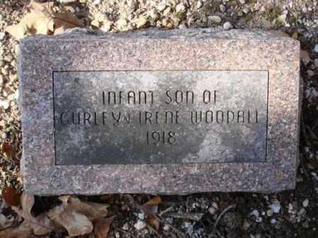 WOODALL, INFANT SON - Saline County, Arkansas | INFANT SON WOODALL - Arkansas Gravestone Photos