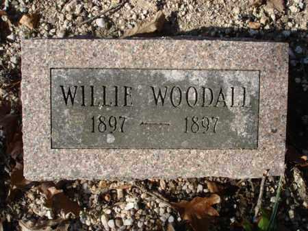WOODALL, WILLIE - Saline County, Arkansas   WILLIE WOODALL - Arkansas Gravestone Photos