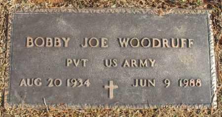 WOODRUFF (VETERAN), BOBBY JOE - Saline County, Arkansas | BOBBY JOE WOODRUFF (VETERAN) - Arkansas Gravestone Photos