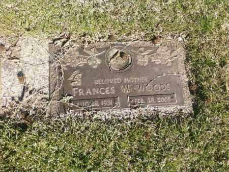 WOODS, FRANCES W. - Saline County, Arkansas | FRANCES W. WOODS - Arkansas Gravestone Photos