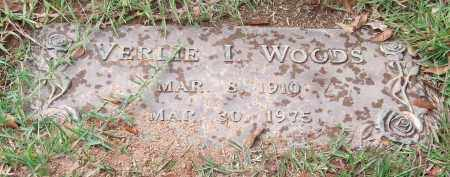 WOODS, VERLIE I. - Saline County, Arkansas   VERLIE I. WOODS - Arkansas Gravestone Photos
