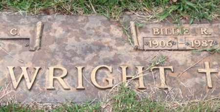 WRIGHT, BILLIE R. - Saline County, Arkansas | BILLIE R. WRIGHT - Arkansas Gravestone Photos