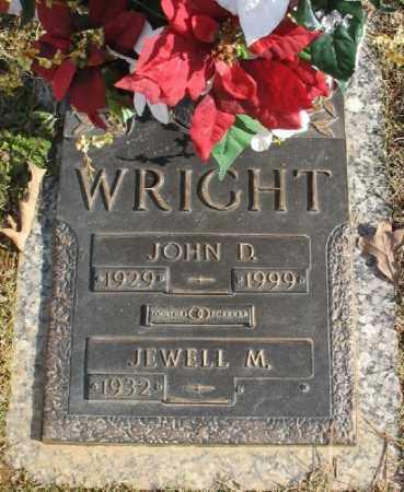 WRIGHT, JOHN D. - Saline County, Arkansas | JOHN D. WRIGHT - Arkansas Gravestone Photos